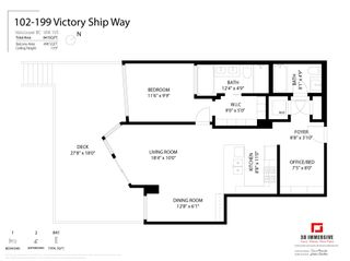 """Photo 28: 102 199 VICTORY SHIP Way in North Vancouver: Lower Lonsdale Condo for sale in """"The Trophy"""" : MLS®# R2607442"""
