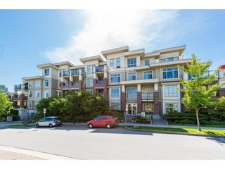 "Photo 1: 406 270 FRANCIS Way in New Westminster: Fraserview NW Condo for sale in ""THE GROVE AT VICTORIA HILL"" : MLS®# R2268417"