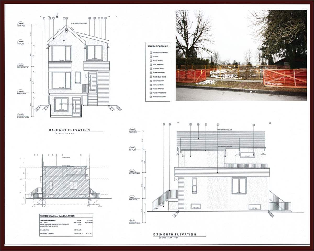 Main Photo: 4493 ATLIN Street in Vancouver: Renfrew Heights Land for sale (Vancouver East)  : MLS®# R2144660