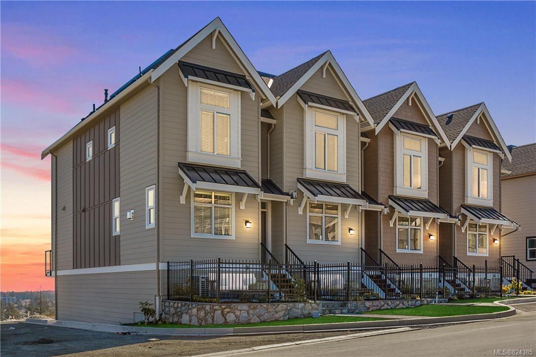 Main Photo: 1231 Flint Ave in Langford: La Bear Mountain Row/Townhouse for sale : MLS®# 824385
