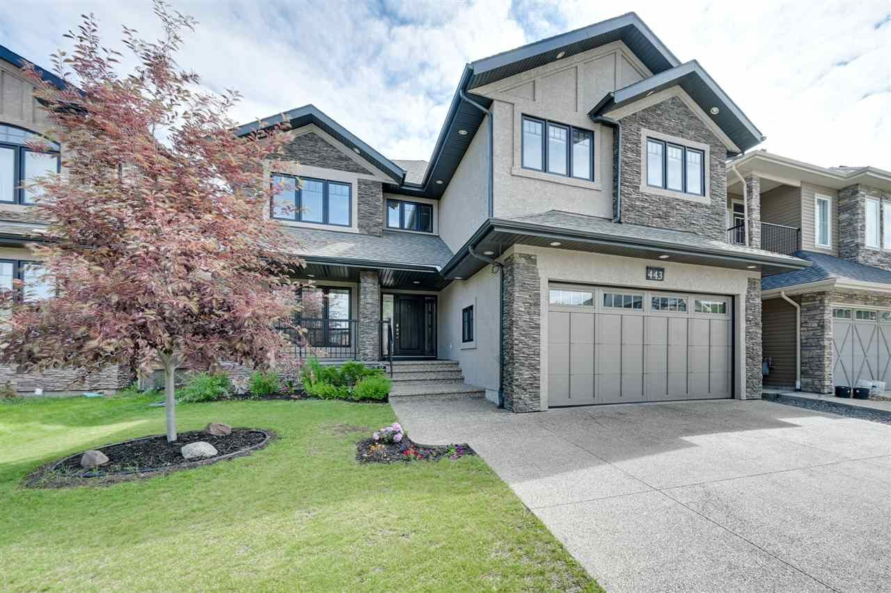Main Photo: 443 WINDERMERE Road in Edmonton: Zone 56 House for sale : MLS®# E4223010