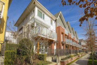 """Photo 1: 3119 E KENT AVENUE NORTH in Vancouver: South Marine Townhouse for sale in """"River Walk"""" (Vancouver East)  : MLS®# R2439075"""