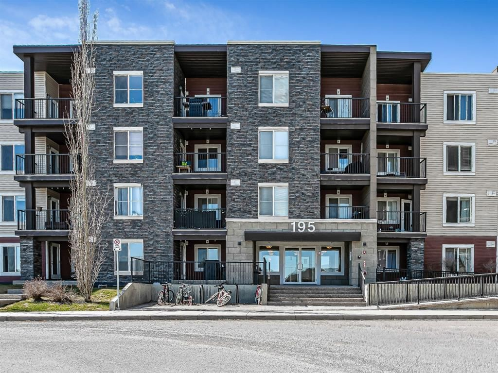 Main Photo: 125 195 Kincora Glen Road NW in Calgary: Kincora Apartment for sale : MLS®# A1095706