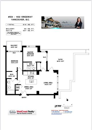 """Photo 29: 554 1432 KINGSWAY Street in Vancouver: Knight Condo for sale in """"KING EDWARD VILLAGE"""" (Vancouver East)  : MLS®# R2593597"""