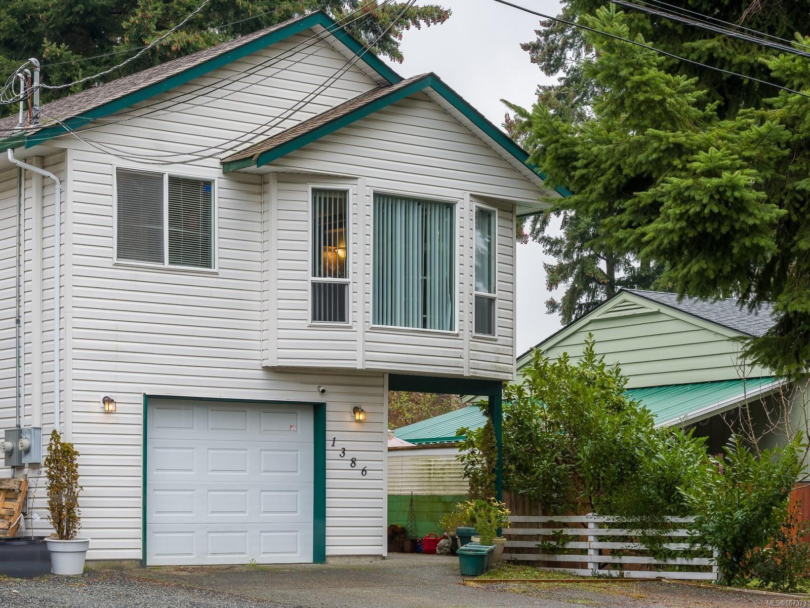 Main Photo: 1386 Graham Cres in : Na Central Nanaimo House for sale (Nanaimo)  : MLS®# 867373