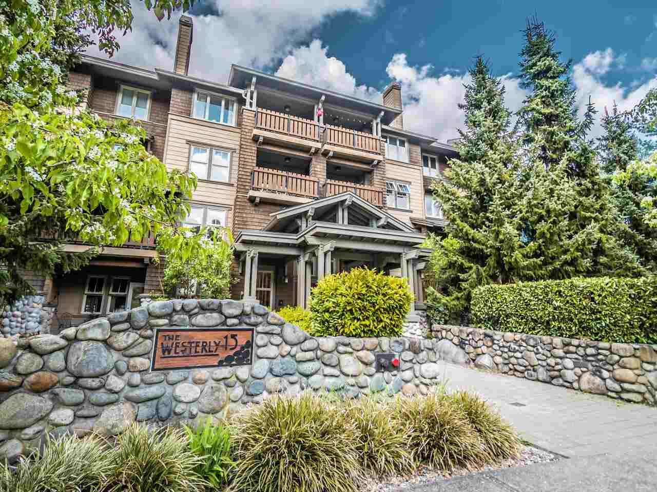 "Main Photo: 206 15 SMOKEY SMITH Place in New Westminster: GlenBrooke North Condo for sale in ""The Westerly"" : MLS®# R2572554"