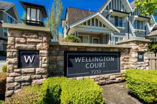 """Photo 2: 41 7233 HEATHER Street in Richmond: McLennan North Townhouse for sale in """"WELLINGTON COURT"""" : MLS®# R2163856"""