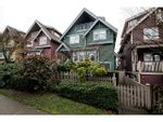 Property Photo: 1632 GRANT ST in Vancouver