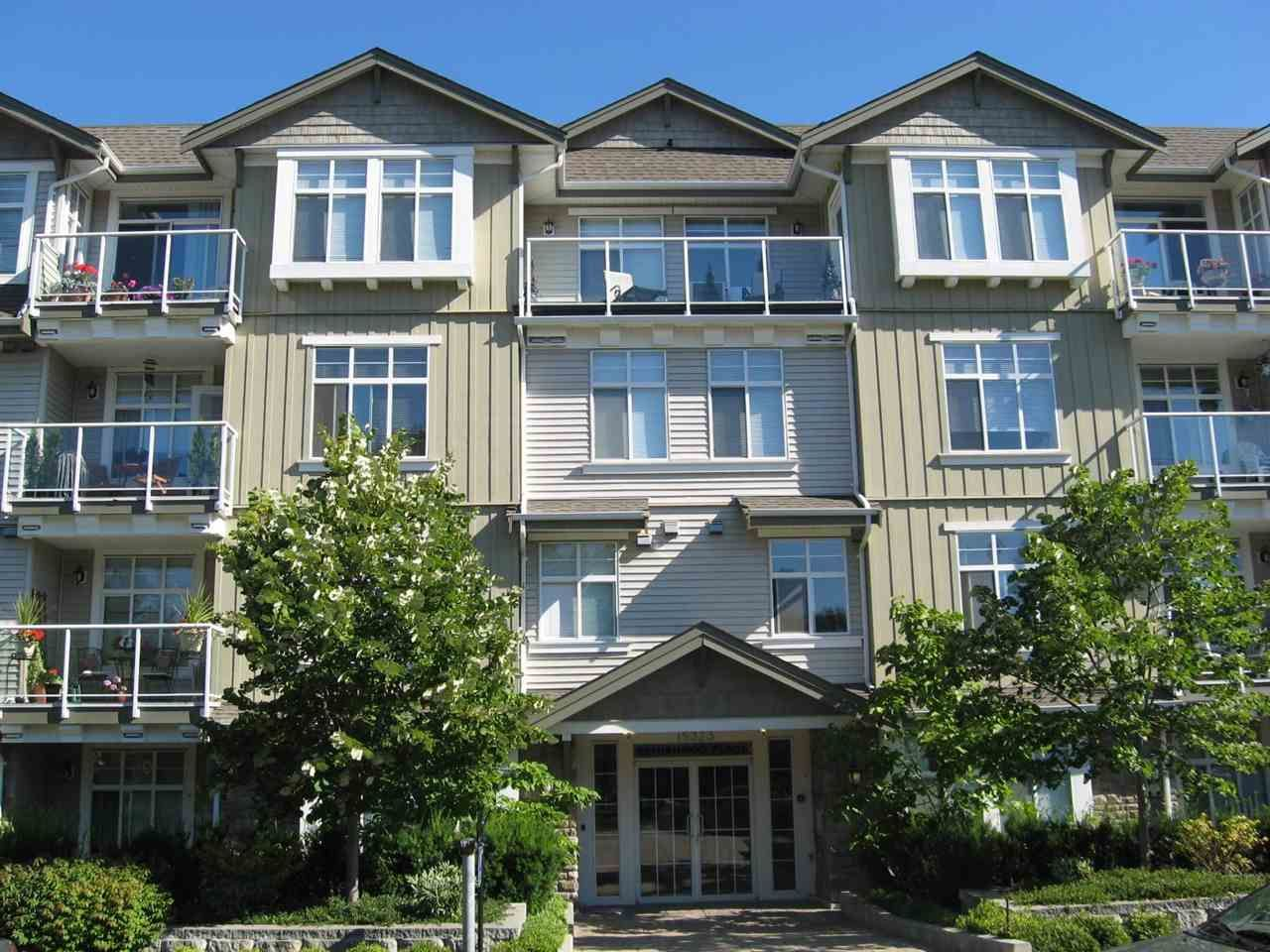"""Main Photo: 206 15323 17A Avenue in Surrey: King George Corridor Condo for sale in """"Semiahmoo Place"""" (South Surrey White Rock)  : MLS®# R2590804"""