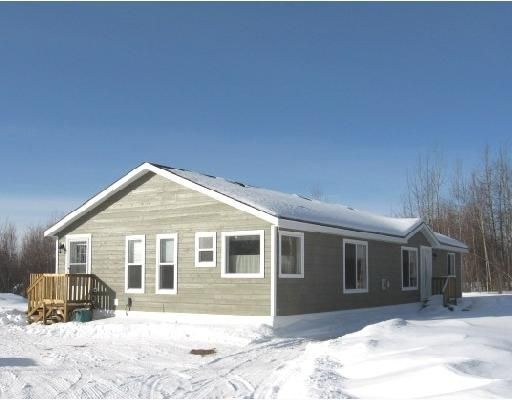 "Main Photo: 11 ROCKY MOUNTAIN Road in Fort_Nelson: Fort Nelson - Rural Manufactured Home for sale in ""SATENEH ESTATES"" (Fort Nelson (Zone 64))  : MLS®# N179978"
