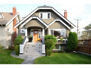 Photo 1: 3621 W 20TH Avenue in Vancouver: Dunbar House for sale (Vancouver West)  : MLS®# V1089715