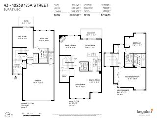 """Photo 34: 43 10238 155A Street in Surrey: Guildford Townhouse for sale in """"Chestnut Lane"""" (North Surrey)  : MLS®# R2588170"""