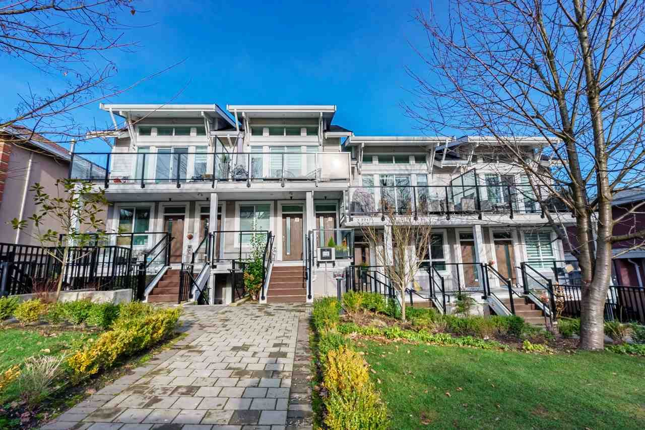"Main Photo: 1 2717 HORLEY Street in Vancouver: Collingwood VE Townhouse for sale in ""AVIIDA"" (Vancouver East)  : MLS®# R2532899"