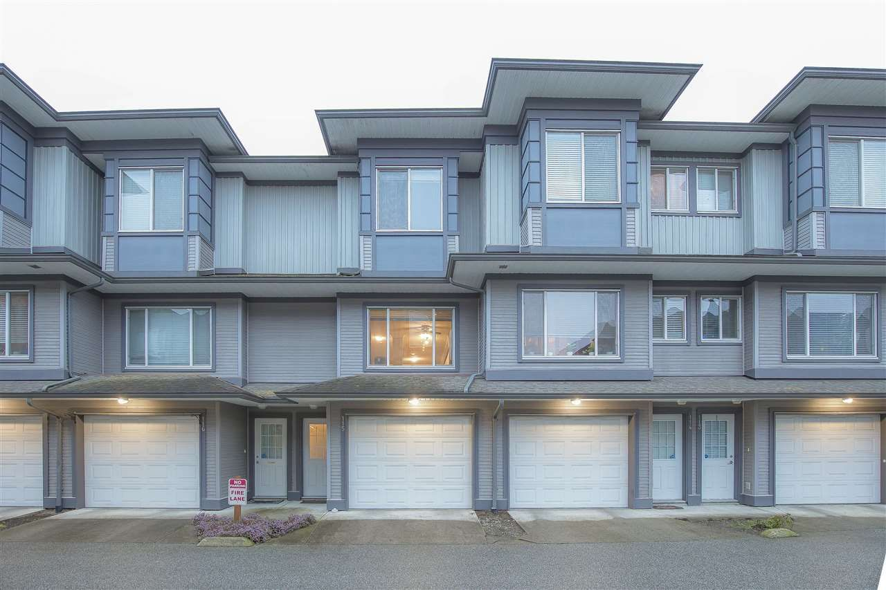 """Main Photo: 115 18701 66 Avenue in Surrey: Cloverdale BC Townhouse for sale in """"ENCORE AT HILLCREST"""" (Cloverdale)  : MLS®# R2439524"""