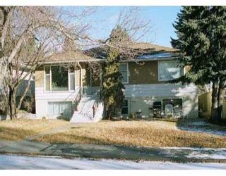 Photo 1:  in CALGARY: Banff Trail Duplex Up And Down for sale (Calgary)  : MLS®# C3196655