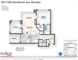 """Photo 27: 607 7368 SANDBORNE Avenue in Burnaby: South Slope Condo for sale in """"MAYFAIR PLACE"""" (Burnaby South)  : MLS®# R2598493"""