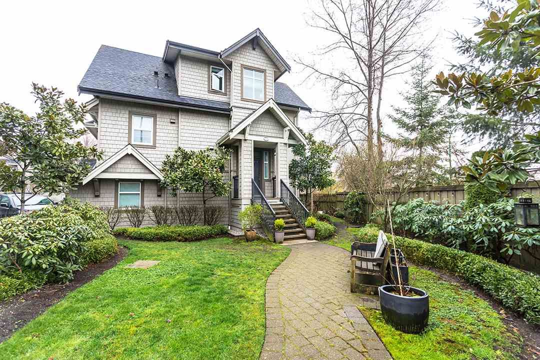 """Main Photo: 768 ORWELL Street in North Vancouver: Lynnmour Townhouse for sale in """"WEDGEWOOD"""" : MLS®# R2562230"""