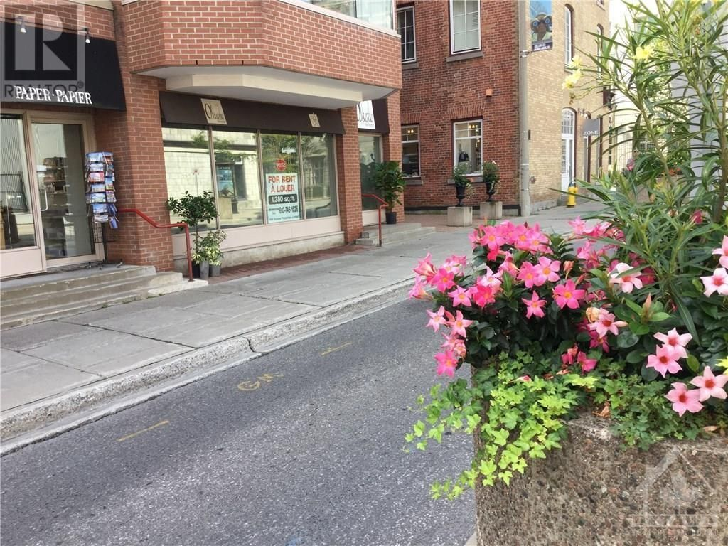 Main Photo: 14 CLARENCE STREET in Ottawa: Retail for rent : MLS®# 1225059