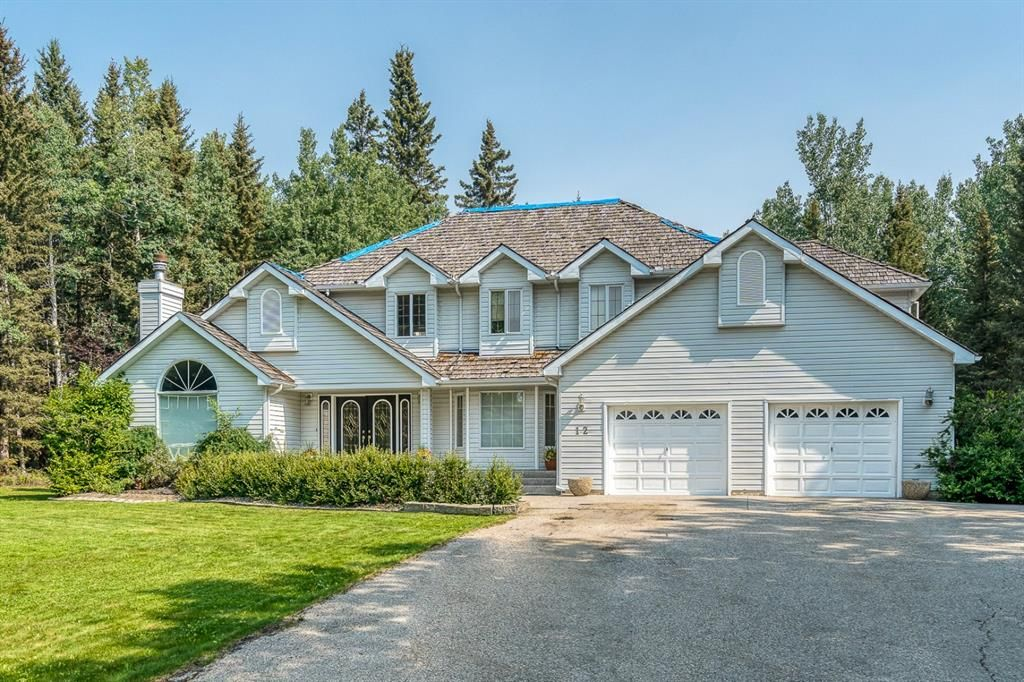 Main Photo: 12 Moose Drive in Rural Rocky View County: Rural Rocky View MD Detached for sale : MLS®# A1151051