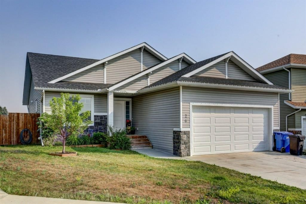 Main Photo: 26 Mackenzie Way: Carstairs Detached for sale : MLS®# A1135289