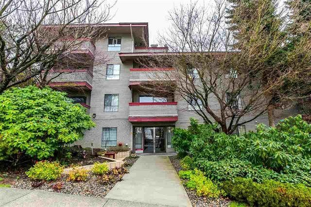 "Main Photo: 203 109 TENTH Street in New Westminster: Uptown NW Condo for sale in ""LANDGRO MANOR"" : MLS®# R2181370"