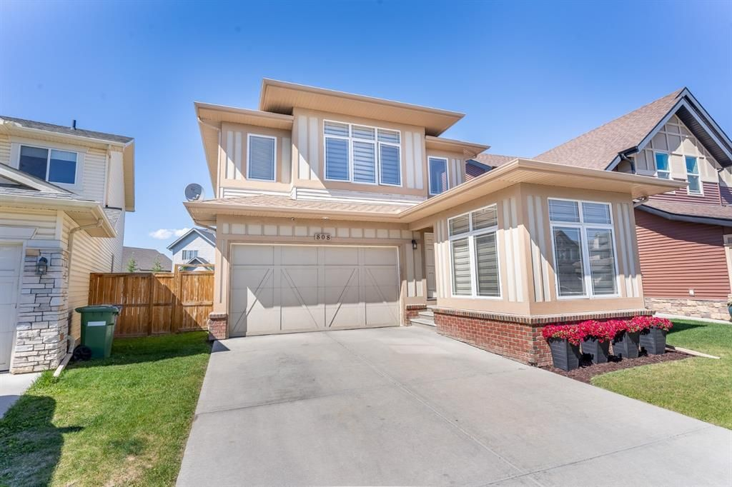 Main Photo: 808 Coopers Square SW: Airdrie Detached for sale : MLS®# A1121684