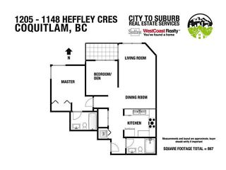 "Photo 20: 1205 1148 HEFFLEY Crescent in Coquitlam: North Coquitlam Condo for sale in ""CENTURA"" : MLS®# V1112915"