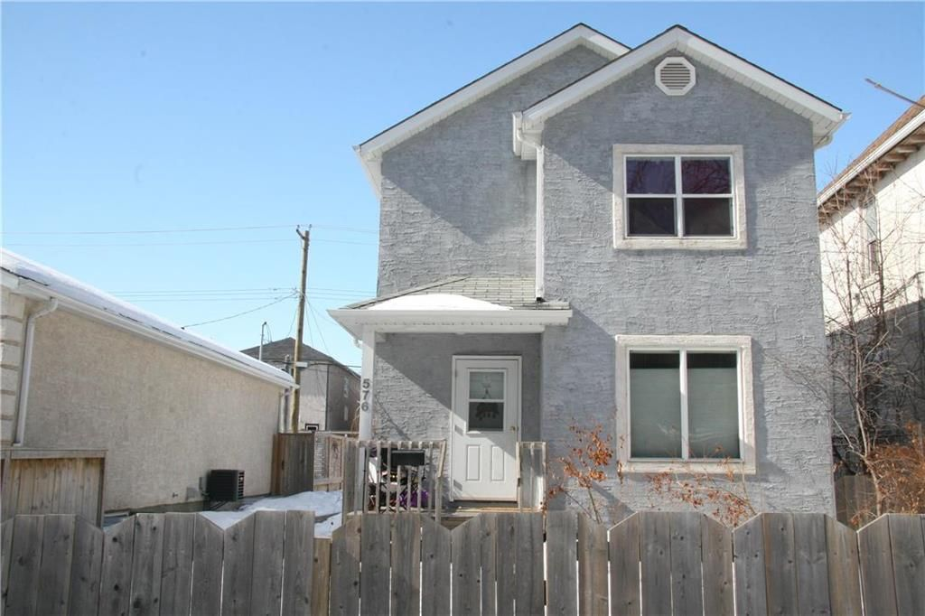 Main Photo: 576 Spence Street in Winnipeg: West End Residential for sale (5A)  : MLS®# 202003701