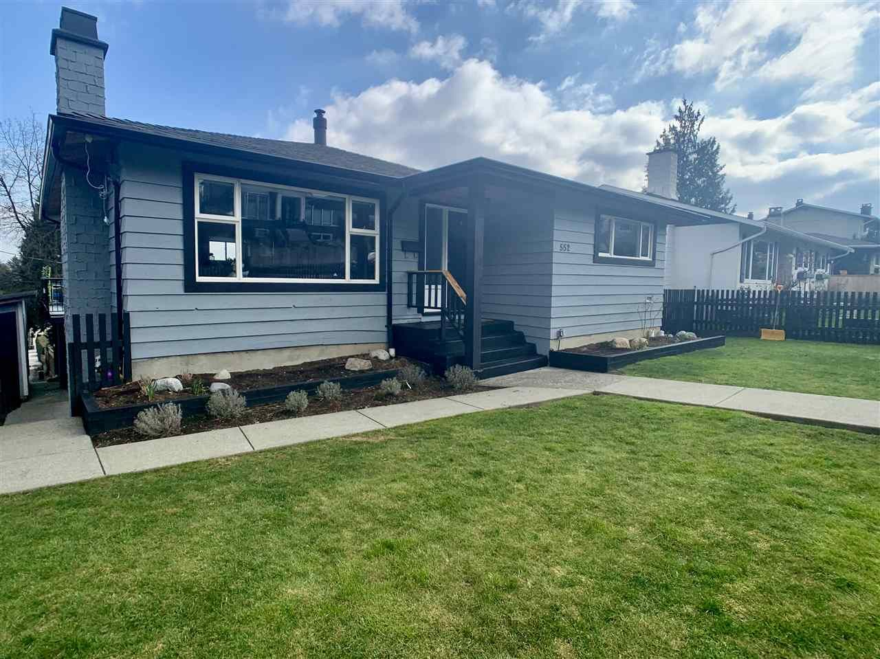 Main Photo: 552 GARFIELD STREET in New Westminster: The Heights NW House for sale : MLS®# R2554342