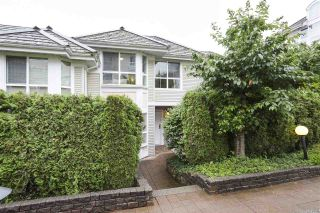 "Photo 1: 212 1413 BRUNETTE Avenue in Coquitlam: Maillardville Townhouse for sale in ""La Galerie"" : MLS®# R2465611"