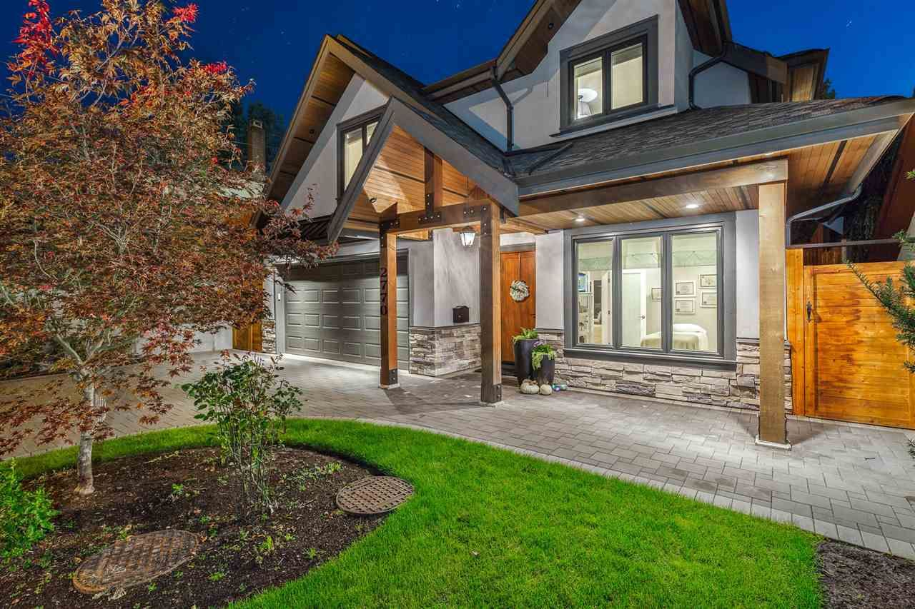 Main Photo: 2770 PHILIP Avenue in North Vancouver: Capilano NV House for sale : MLS®# R2459326