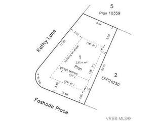 Photo 1: Lot 1 Fashoda Pl in VICTORIA: La Happy Valley Land for sale (Langford)  : MLS®# 626212