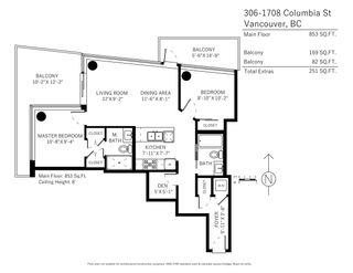 Photo 17: 306 1708 COLUMBIA STREET in Vancouver: False Creek Condo for sale (Vancouver West)  : MLS®# R2341537