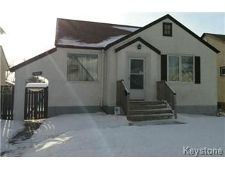 Main Photo: 608 Bannerman Avenue in Winnipeg: Residential for sale (North End)  : MLS®# 1500478