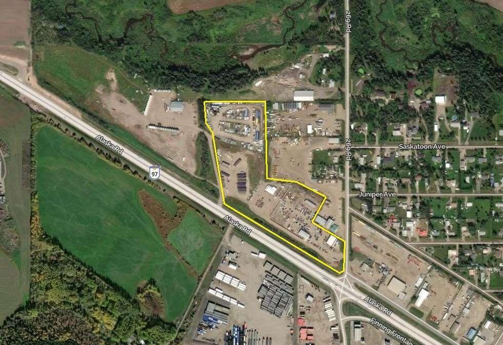 Main Photo: 11064 269 Road in Fort St. John: Fort St. John - Rural W 100th Industrial for sale (Fort St. John (Zone 60))  : MLS®# C8037830
