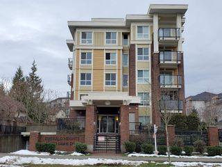 "Photo 1: 105 13883 LAUREL Drive in Surrey: Whalley Condo for sale in ""EMERALD HEIGHTS"" (North Surrey)  : MLS®# R2614070"