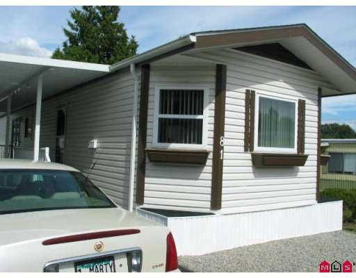 """Main Photo: 81 1840 160 Street in Surrey: King George Corridor Manufactured Home for sale in """"BREAKAWAY BAYS"""" (South Surrey White Rock)  : MLS®# F2721766"""