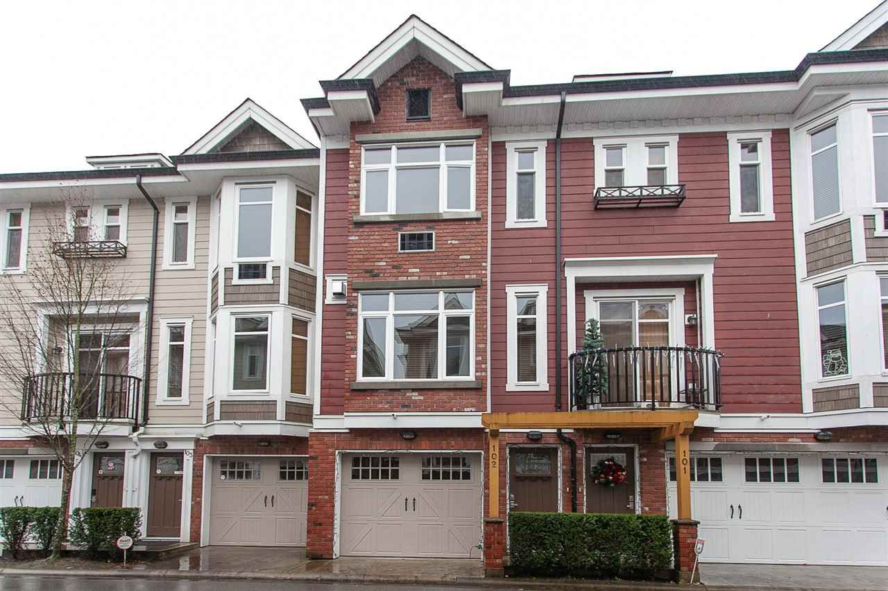 """Main Photo: 102 20738 84 Avenue in Langley: Willoughby Heights Townhouse for sale in """"Yorkson Creek"""" : MLS®# R2328032"""