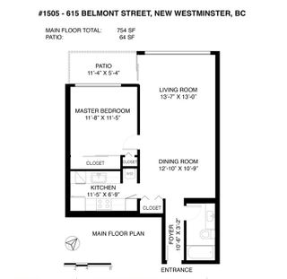 """Photo 31: 1505 615 BELMONT Street in New Westminster: Uptown NW Condo for sale in """"BELMONT TOWERS"""" : MLS®# R2516809"""