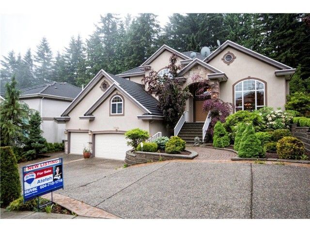 Main Photo: 3088 FIRESTONE Place in Coquitlam: Westwood Plateau House for sale : MLS®# V1066536
