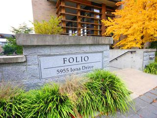 """Photo 2: 111 5955 IONA Drive in Vancouver: University VW Condo for sale in """"FOLIO"""" (Vancouver West)  : MLS®# R2269280"""