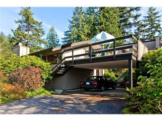 Photo 1: 6890 HYCROFT Road in West Vancouver: Whytecliff House for sale : MLS®# V963512