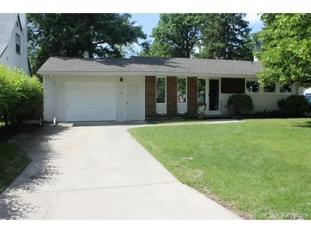 Main Photo: 178 Palliser Avenue in WINNIPEG: St James Residential for sale (West Winnipeg)  : MLS®# 1415009