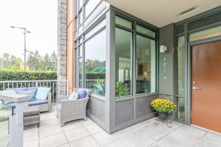 Photo 2: 101 680 SEYLYNN Crescent in North Vancouver: Lynnmour Townhouse for sale : MLS®# R2618990