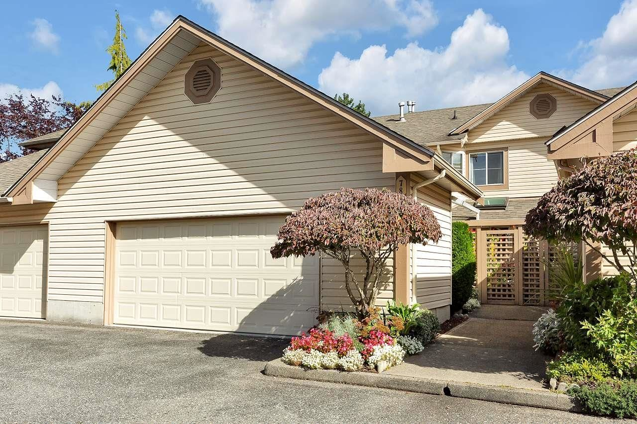 """Main Photo: 78 6140 192 Street in Surrey: Cloverdale BC Townhouse for sale in """"Estates at Manor Ridge"""" (Cloverdale)  : MLS®# R2625157"""