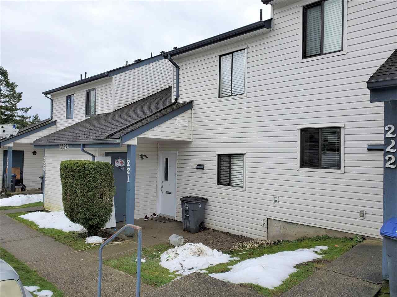 """Main Photo: 221 13624 67 Avenue in Surrey: East Newton Townhouse for sale in """"Hyland  Creek  Estates"""" : MLS®# R2429636"""