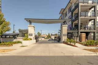 """Photo 2: 406 2120 GLADWIN Road in Abbotsford: Central Abbotsford Condo for sale in """"THE ONYX AT MAHOGANY"""" : MLS®# R2614339"""
