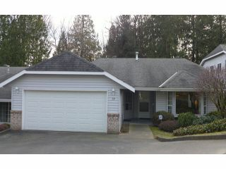 "Photo 1: 13 33020 MACLURE Road in Abbotsford: Central Abbotsford Townhouse for sale in ""WILLBAND CREEK ESTATES"" : MLS®# F1404024"