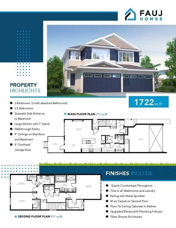 Main Photo: 226 39A Avenue in Edmonton: Zone 30 House Half Duplex for sale : MLS®# E4266268