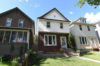 Photo 1: 806 Banning Street in Winnipeg: West End Residential for sale (5C)  : MLS®# 202122763